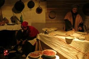 presepe vivente in Calabria panettieri