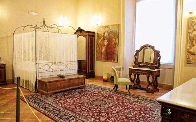 camera da letto della baronessa