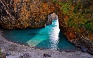 spiaggia san nicola arcella arco magno