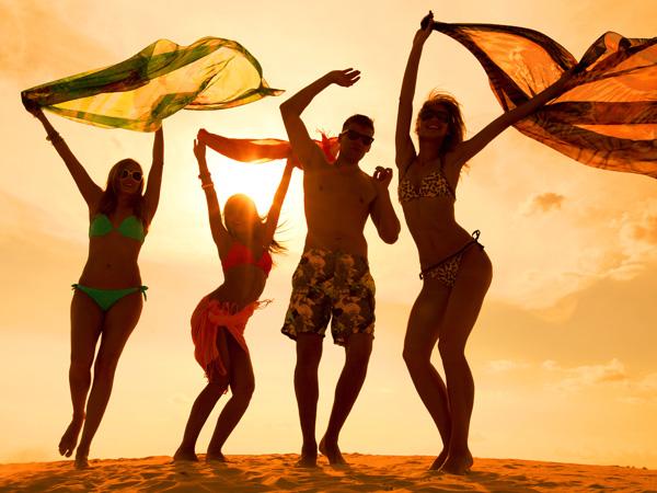 ballare in spiaggia