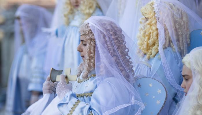 angeli serafini verbicaro settimana santa