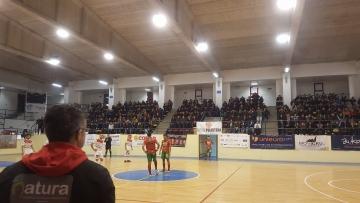 Il fischio d'inizio del derby di Polistena