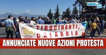 Lavoro, tirocinanti calabresi bloccano la SS106 nel tratto Sibari-Corigliano
