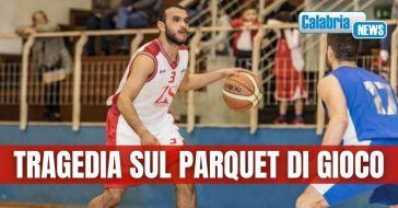 Basket malore per un giocatore a Reggio Calabria, muore in ospedale Haitem Fathallah della Fortitudo Messina