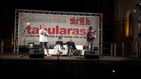 da sx Mad Simon, Fabio Cuzzola, Giancarlo Raffaele, Fortunato Trefiletti