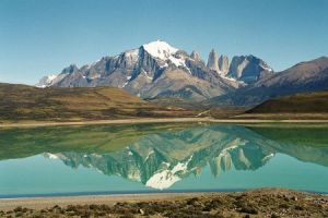 Torres del Paine from Calafate