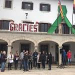 Sant Llorenç recorda les víctimes i afectats per la torrentada un mes després
