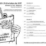 La V Fira del Llibre Anarquista de Mallorca arriba a Manacor [20 i 21 d'octubre]