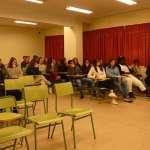 L'Ajuntament sensibilitza els joves de l'IES Puig de Sa Font sobre els perills de les drogues amb un cicle de conferències