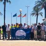 Cala Millor ja llueix un any més la bandera blava