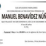 Manuel Benavídez Núñez