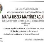 Maria Josefa Martínez Aguirre
