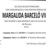 Margalida Barceló Vives