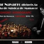 Concert de la Banda de Música de Manacor i Oscar Navarro a benefici dels damnificats per la torrentada del Llevant mallorquí