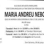 Maria Andreu Nebot