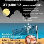 Torneig nocturn 4X4 de Vòlei Platja a Cala Millor