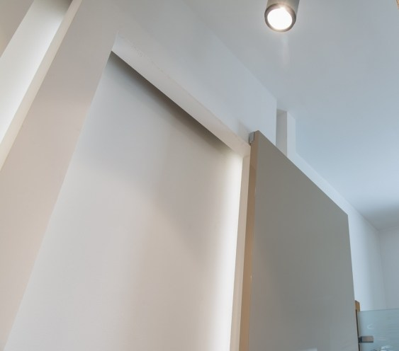 Porta scorrevole esterno muro