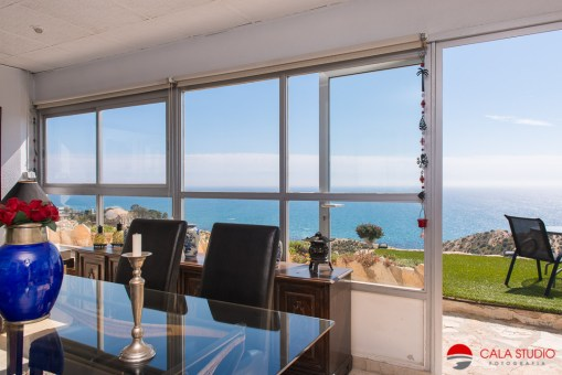 Professional real estate photography cabo huertas costa blanca