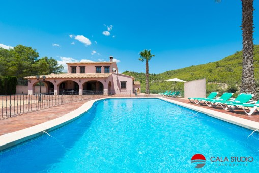 Moraira Photographer Holiday Villas