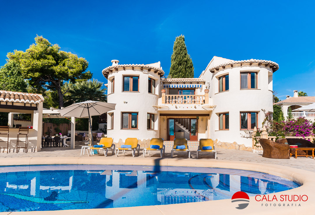 Real Estate Photographer Holiday Villas Calpe