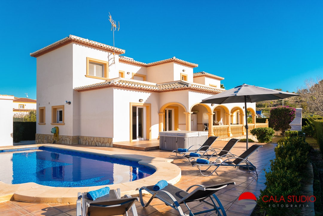 Holiday Rental Villa Photographer in Calpe