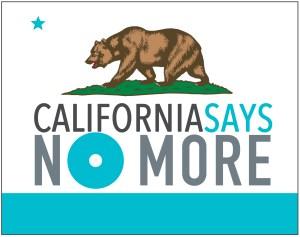 Logo - CA Says NO MORE