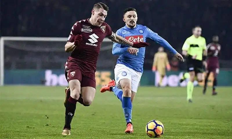 Napoli-Torino, le formazioni ufficiali: out Hamsik e Belotti