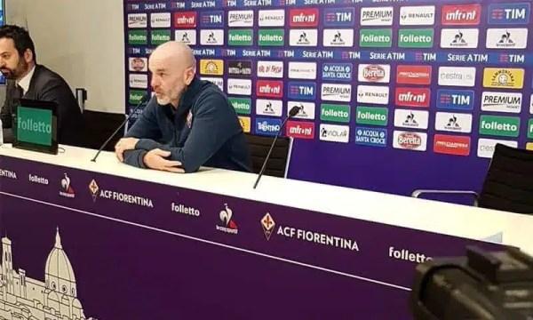 """Fiorentina-Lazio, Pioli senza fronzoli: """"Voglio la massima concentrazione. Dabo ottimo innesto, Thereau non credo ci sarà"""""""