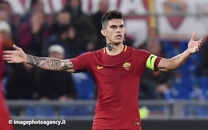 Inter-Roma, infortunio per Perotti: in dubbio per San Siro