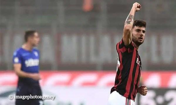 """Milan, Cutrone si giustifica: """"Il mio è stato un gesto involontario. Non voglio si metta in dubbio la mia onestà"""""""