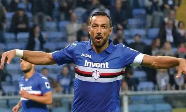 Sampdoria-Roma finisce 1-1: apre Quagliarella, risponde Dzeko