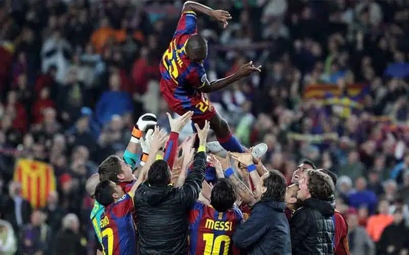Abidal, Messi disse 'non mandarci video'