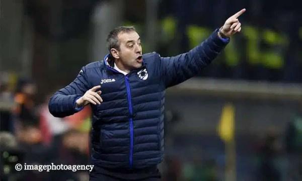 """Sampdoria-Roma, Giampaolo: """"Mi sono divertito. Praet? Dispiace, è unico"""""""