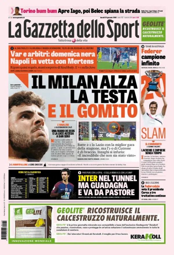prima_pagina_grande Gazzetta dello Sport 29:01