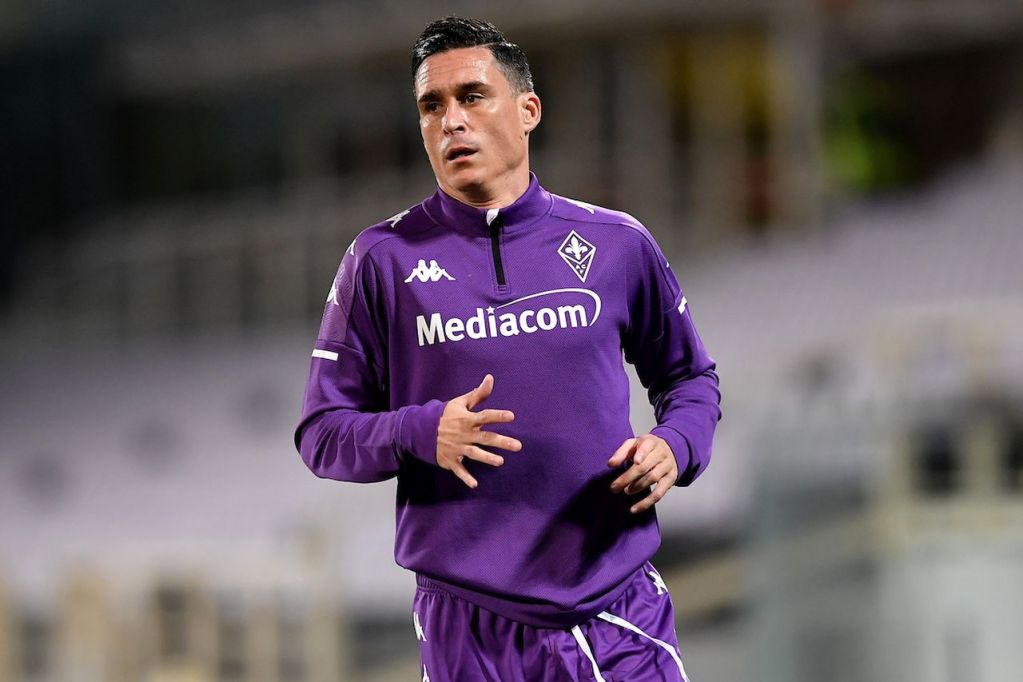Jose Callejon of ACF Fiorentina during the Serie A football match between ACF Fiorentina and Udinese Calcio at Artemio Franchi stadium in Firenze (Italy), October 25th, 2020. Photo Andrea Staccioli / Insidefoto