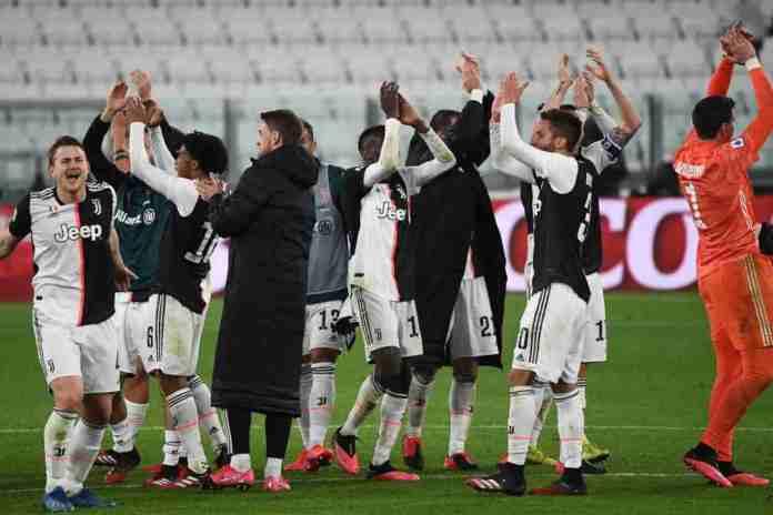 Champions League Juventus Serie A calendar