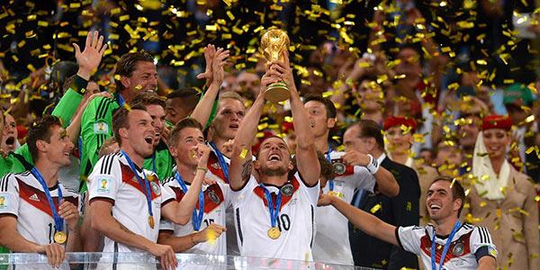 Brasile 2014: Germania Mondiale, Argentina d'argento, Olanda di bronzo