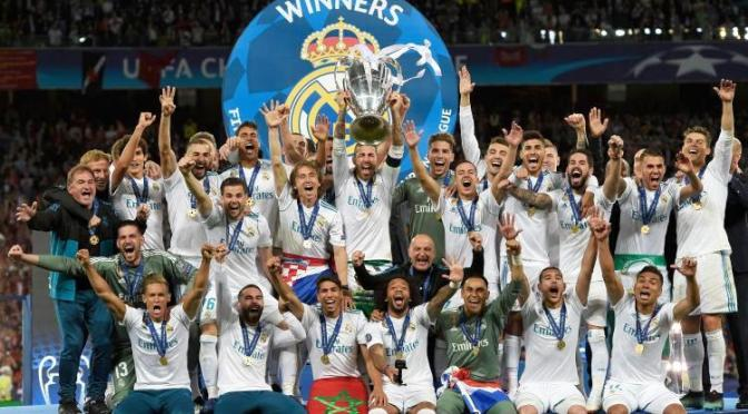 Champions League: il Real ha fatto tredici