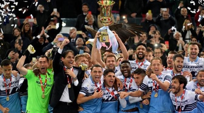 Coppa Italia 2019: recriminazione Atalanta, festa Lazio