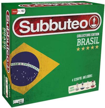 scatola completa subbuteo originale edizione brasile con quattro squadre