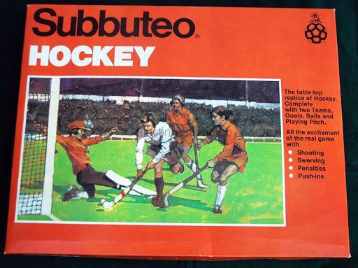 Scatola Hockey Subbuteo