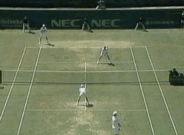 Formazione a L nel Tennis