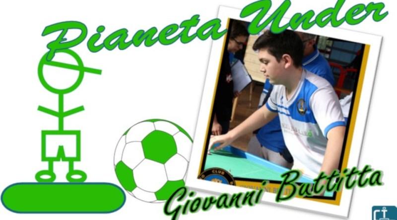 Giovanni Buttitta a Pianeta Under Subbuteo