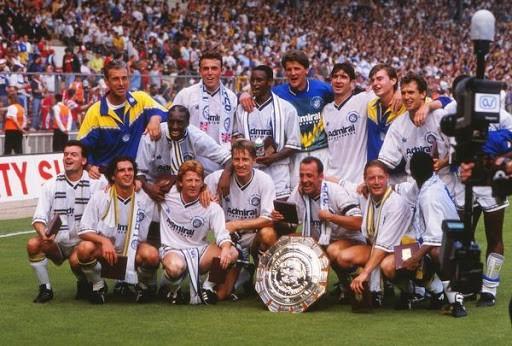 La formazione del Leeds Utd vincitrice del Charity Shield 1992