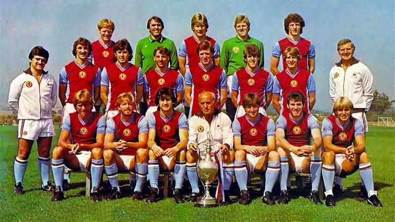 La rosa dell'Aston Villa, Campione d'Europa 1982