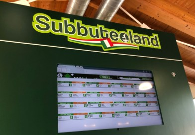 Maxi schermo subbuteo a subbuteoland