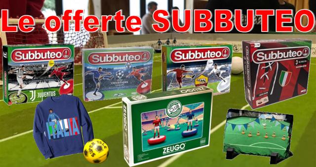 offerte subbuteo facebook