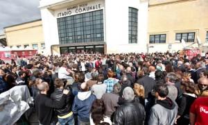 Stadio Livorno per Morosini
