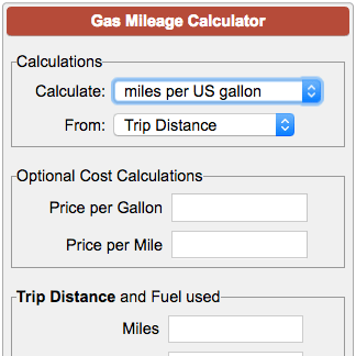 calculating travel costs by car myvacationplan org