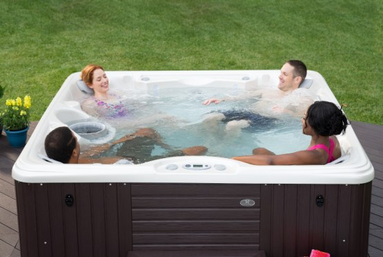 Your home spa is a great opportunity for socializing and enjoying quality time with your family.